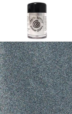 Happymade - Cosmic Shimmer - Sparkle Shakers - Steel Sparkle - 10ml.