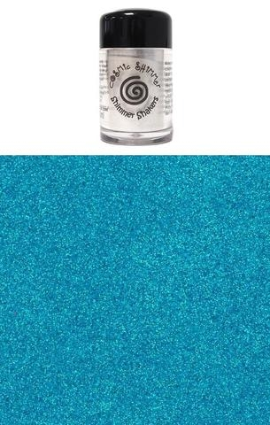 Happymade - Cosmic Shimmer - Sparkle Shakers - Ultramarine Blue - 10ml.