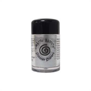Happymade - Cosmic Shimmer - Shimmer Shakers - Gunmetal - 10ml.