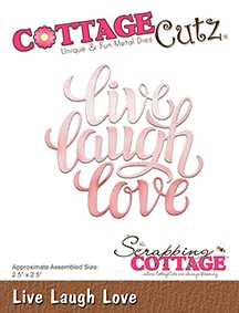CottageCutz - Live Laugh Love