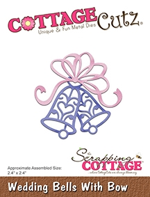 CottageCutz - Wedding Bells With Bow
