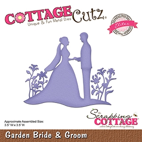 CottageCutz - Garden Bride & Groom