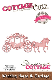 CottageCutz - Wedding Horse & Carriage