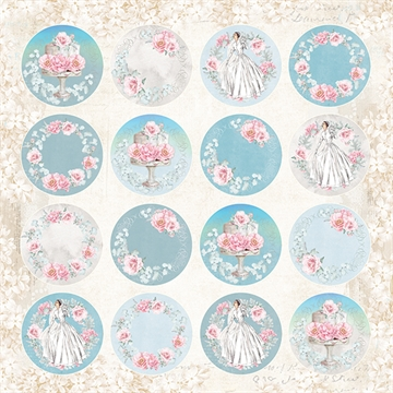 Happymade - Craft & You Design - Klippeark - Pastel Wedding (CP-PW07)