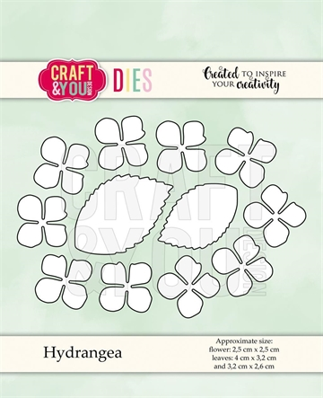 Happymade - Craft & You Design - Die - Hydrangea (CW068)