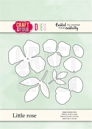 Happymade - Craft & You Design - Die - Little Rose (CW070)