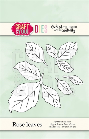 Happymade - Craft & You Design - Die - Rose Leaves (CW071)