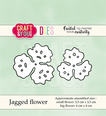 Happymade - Craft & You Design - Die - Jagged Flower (CW040)