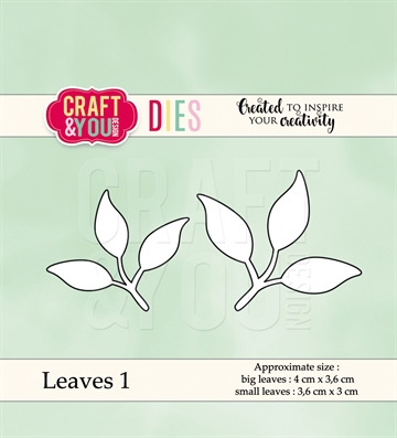 Happymade - Craft & You Design - Die - Leaves 1 (CW038)