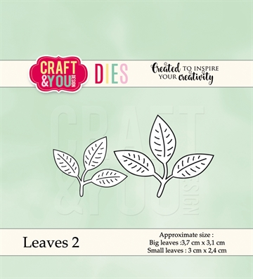 Happymade - Craft & You Design - Die - Leaves 2 (CW039)