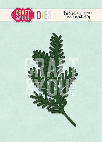 Happymade - Craft & You Design - Die - Conifer Twig #4 (CW091)