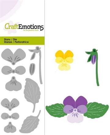 Happymade - Craft Emotions - Die - Violets - 0183