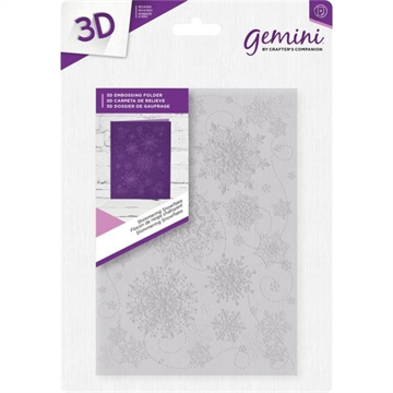 Happymade - Crafters Companion - Embossing Folder - 3D - Shimmering Snowflake