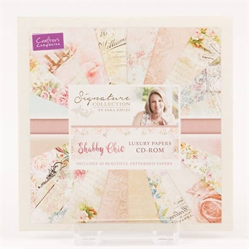 Happymade - Crafter's Companion CD-rom - Shabby Chic Luxury Papers - S-SC-CD