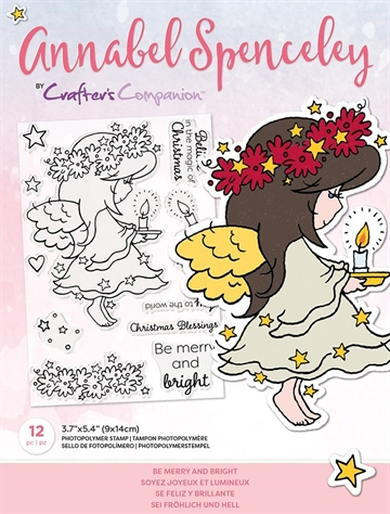 Happymade - Crafter's Companion - Clear Stamp - Annabel Spencely - Be Merry And Bright (AS-STP-BEMGHT)