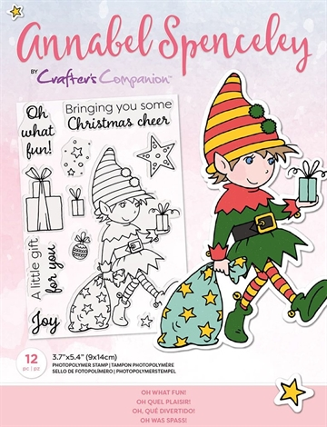 Happymade - Crafter's Companion - Clear Stamp - Annabel Spencely - Oh What Fun (AS-STP-OHWFUN)