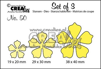 Happymade - CREAlies - Die - Flowers - CLSet50