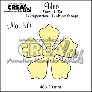 Happymade - CREAlies - Die - Flower - No. 50
