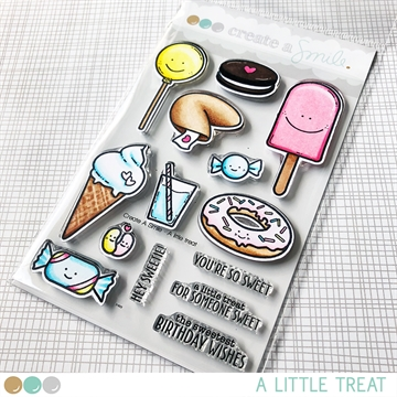 Happymade - Create A Smile - Clear stamp - A Little Treat