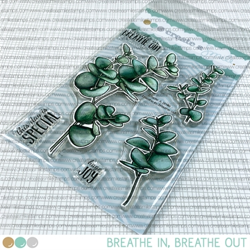 Happymade - Create A Smile - Clear stamp - Breathe in, Breathe out