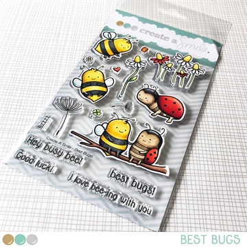 Happymade - Create A Smile - Clear stamp - Best Bugs