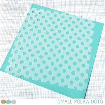 Happymade - Create A Smile - Stencil - Small Polka Dots