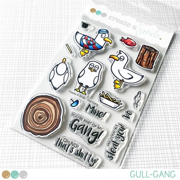 Happymade - Create A Smile - Clear stamp - Gull-Gang