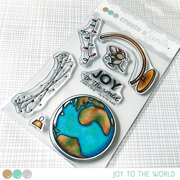Happymade - Create A Smile - Clear stamp - Joy To The World