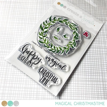 Happymade - Create A Smile - Clear stamp - Magical Christmas Time