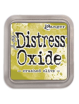 Happymade - Ranger - Tim Holtz - Distress Oxide Ink Pad - Crushed Olive