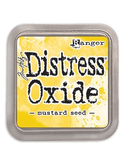 Happymade - Ranger - Tim Holtz - Distress Oxide Ink Pad - Mustard Seed