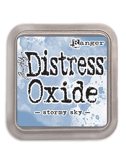 Happymade - Ranger - Tim Holtz - Distress Oxide Ink Pad - Stormy Sky