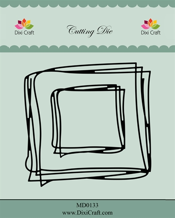 Happymade - Dixi Craft - Die - MD0133 - Square sketch