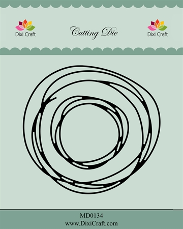 Happymade - Dixi Craft - Die - MD0134 - Circle sketch