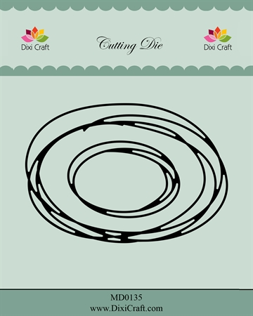 Happymade - Dixi Craft - Die - MD0135 - Oval sketch