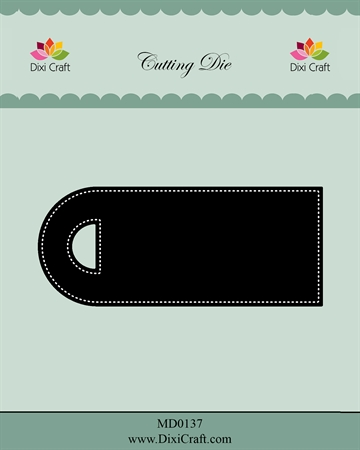 Happymade - Dixi Craft - Die - MD0137 - Pierced label