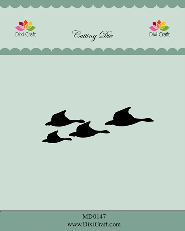 Happymade - Dixi Craft - Die - MD0147 - Ducks
