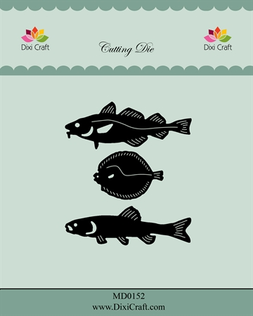 Happymade - Dixi Craft - Die - MD0152 - Fish
