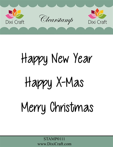 Happymade - Dixi Craft - Clear stamp - 272047