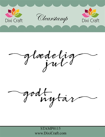 Happymade - Dixi Craft - Clear stamp - 272051