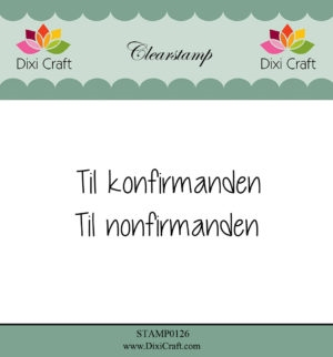 Happymade - Dixi Craft - Clear stamp - 272062