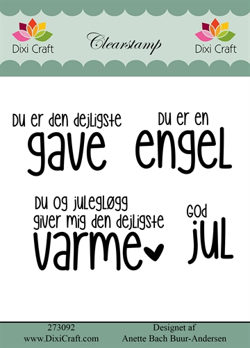 Dixi Craft - Clear stamp - 273092