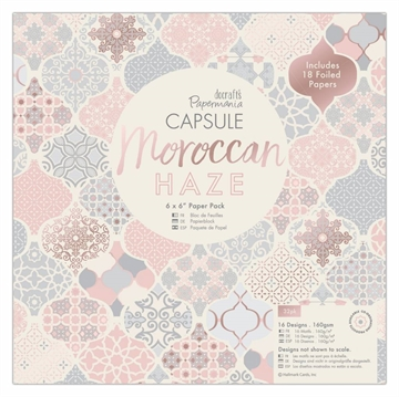 "Happymade - DoCrafts Papermania - Paper Pad - 6x6"" - Moroccan Haze"