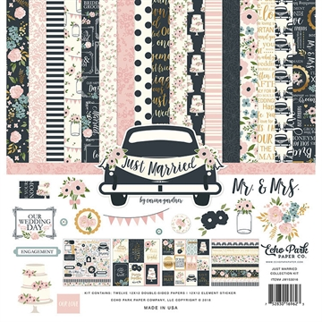 Happymade - Echo Paper - Paper Collection - Just Married (JM153016)