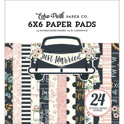 Happymade - Echo Park - Paper pad - Just Married (JM153023)