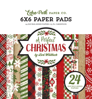 Happymade - Echo Park - Paper pad - A perfect Christmas- APC135023