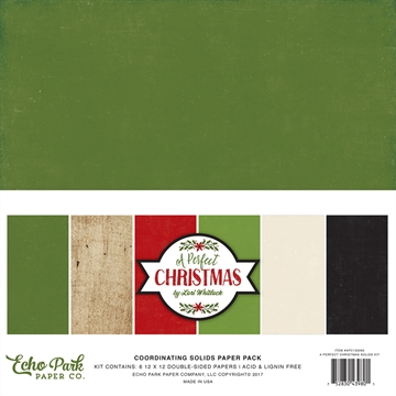 Happymade - Echo Paper - Coordinating Papers - A perfect Christmas (APC135060)