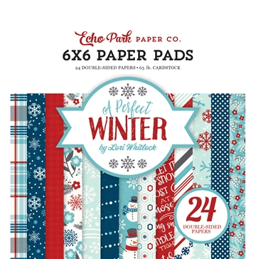 Happymade - Echo Park - Paper pad - A perfect Winter - APW136023