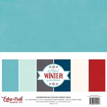 Happymade - Echo Paper - Coordinating Papers - A perfect Winter (APW136060)