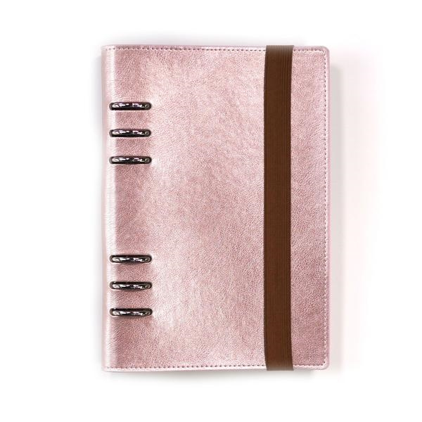 Happymade - Elizabeth Craft Designs - A5 Planner - Rose Gold (P004)